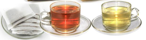 大麦茶和苦荞茶颜色不同