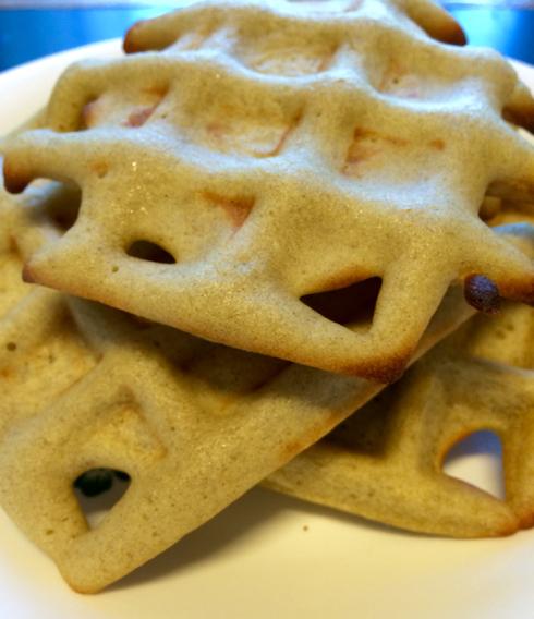 苦荞美食—苦荞松饼的做法