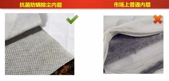 荞麦壳枕头抗菌防螨防尘透气枕套