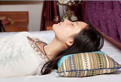 荞麦壳枕头保护颈椎