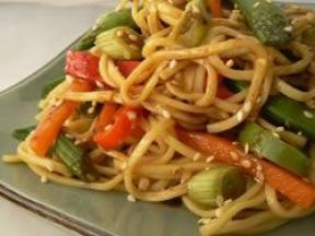 苦荞美食吃法-香芝麻荞麦面的做法