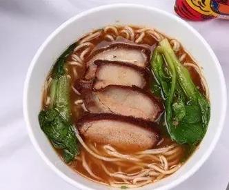 台湾苦荞卤肉面