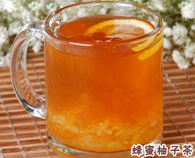 苦荞茶搭配新喝法:苦荞蜂蜜柚子茶,秋季养生,清热又降火