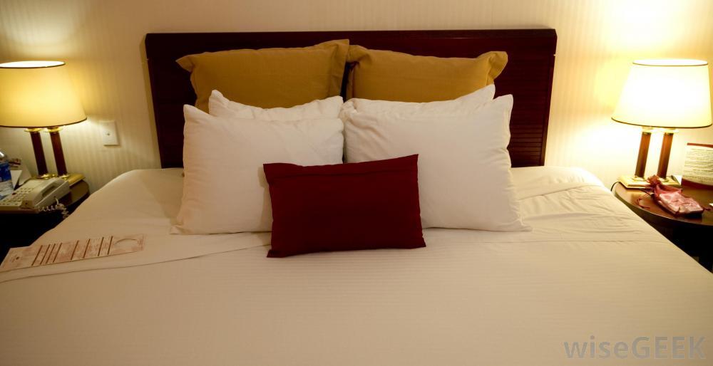 国际高档酒店提供荞麦壳枕头