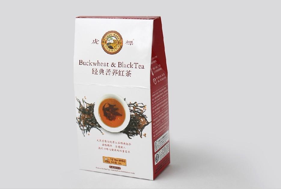 虎标苦荞红茶-天然苦荞与优质红茶的经典组合