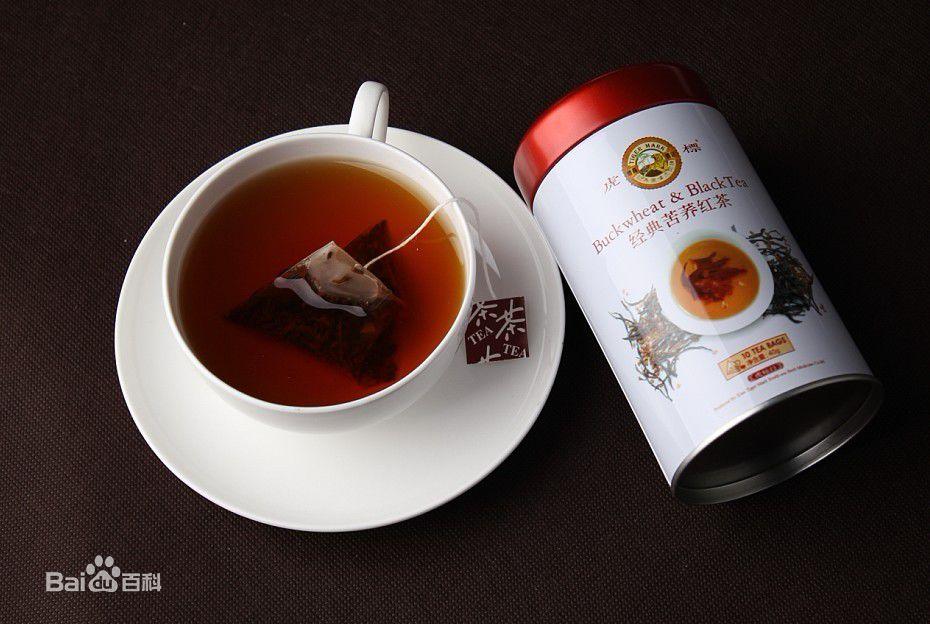 虎标苦荞红茶包装图片