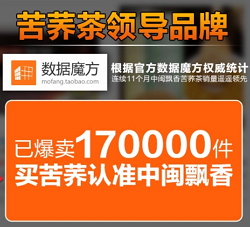 中闽飘香苦荞茶,销量2万件
