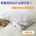 荞麦壳枕头哪个牌子好,荞麦壳枕头选购技巧