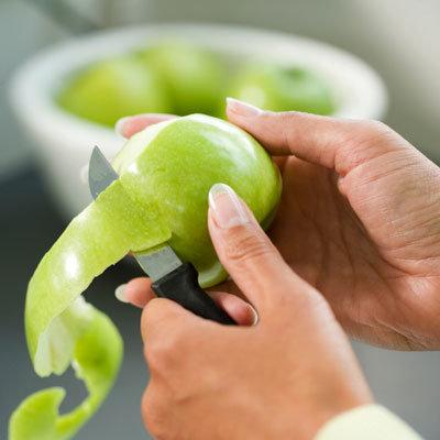 吃苹果清肺