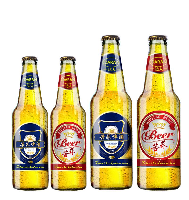 苦荞酒类品种多,苦荞啤酒也上市啦