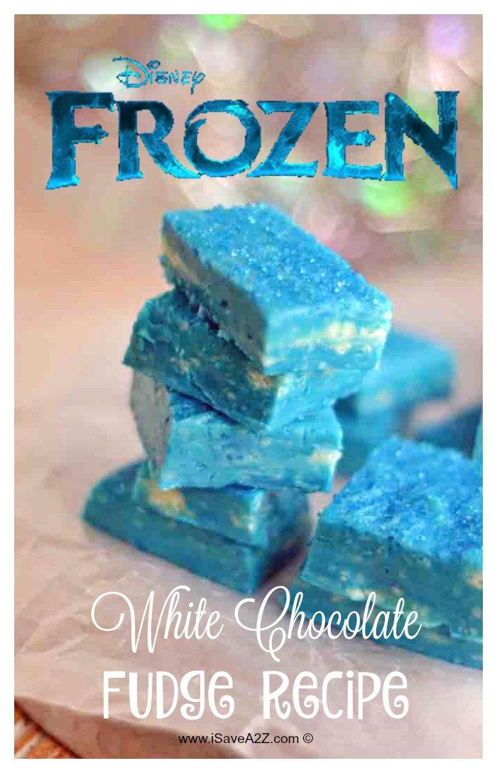 迪斯尼冰雪奇缘风格的白巧克力软糖食谱