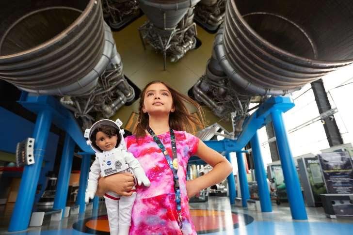 美国女孩的2018年度女孩是一个有雄心壮志的有抱负的宇航员