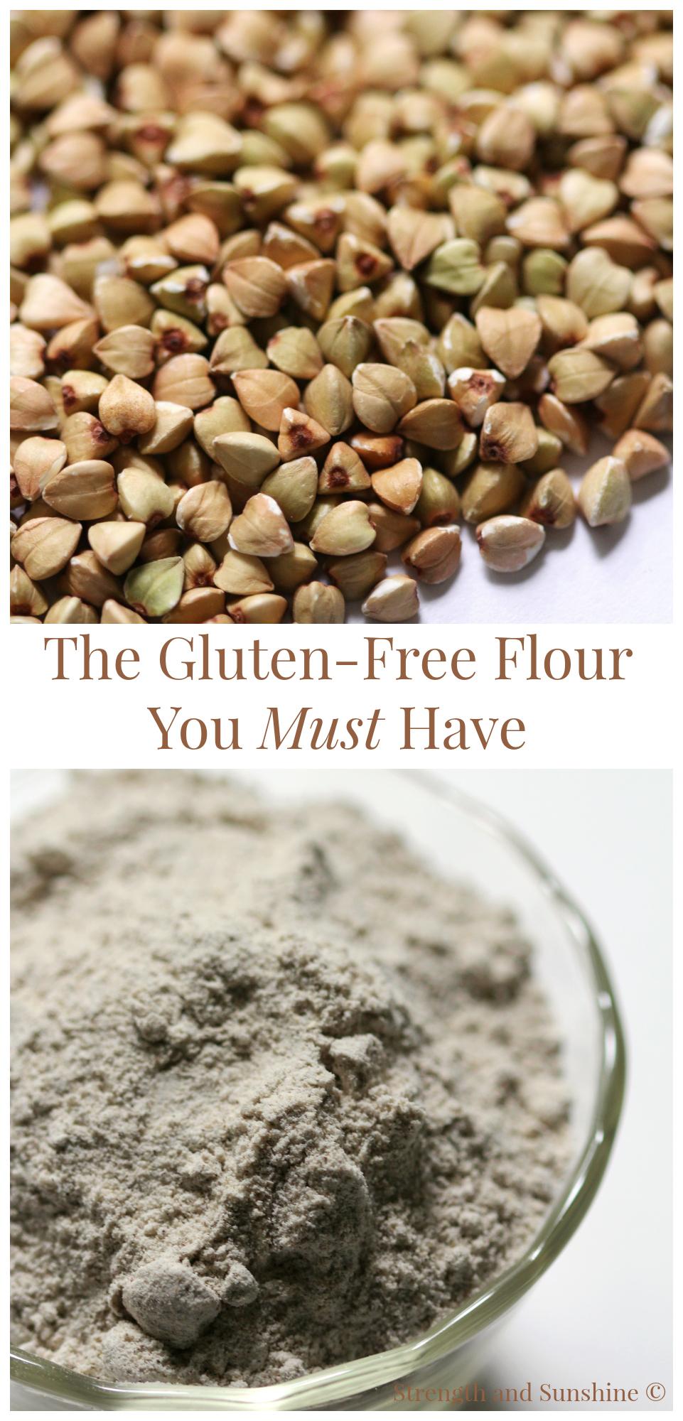 苦荞面粉-无麸质的面粉,麸质不耐受朋友的饮食首选