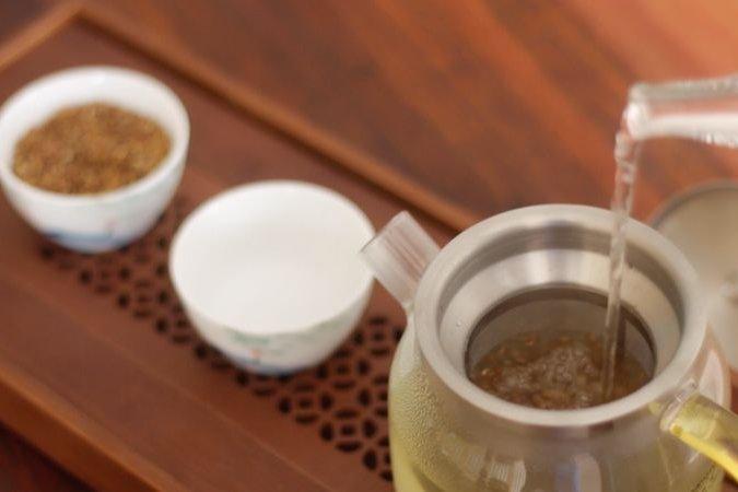 苦荞茶的喝法