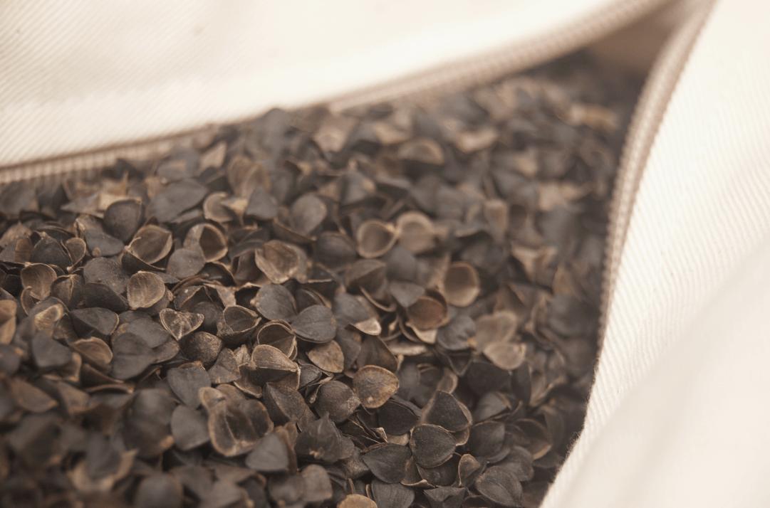 枕头填充物荞麦壳高清图