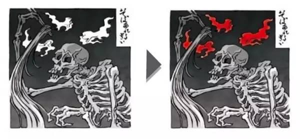 图片[3]|专为外国人设计:检测荞麦过敏的日本和风纹身|苦荞之家
