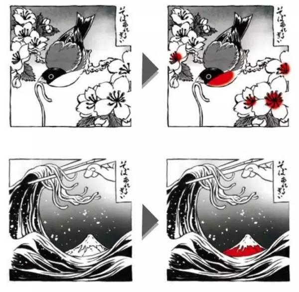 图片[4]|专为外国人设计:检测荞麦过敏的日本和风纹身|苦荞之家