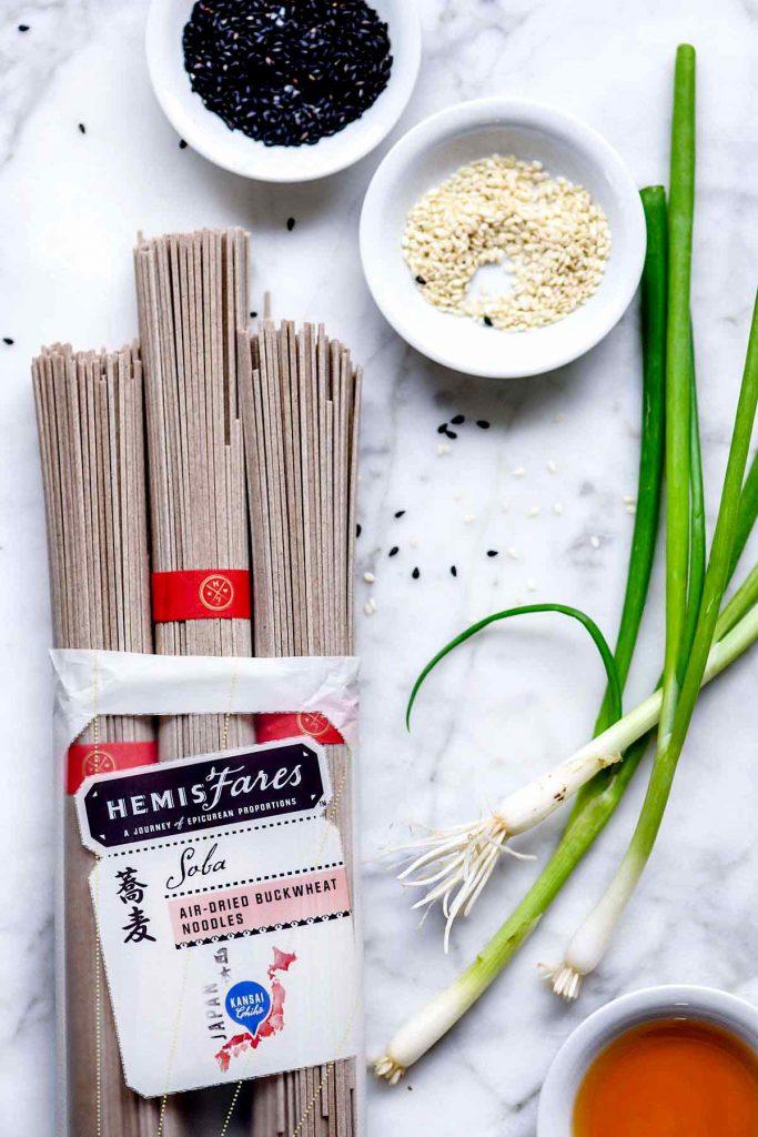 芝麻荞麦面的做法食谱
