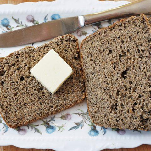 无麸质苦荞面包的做法