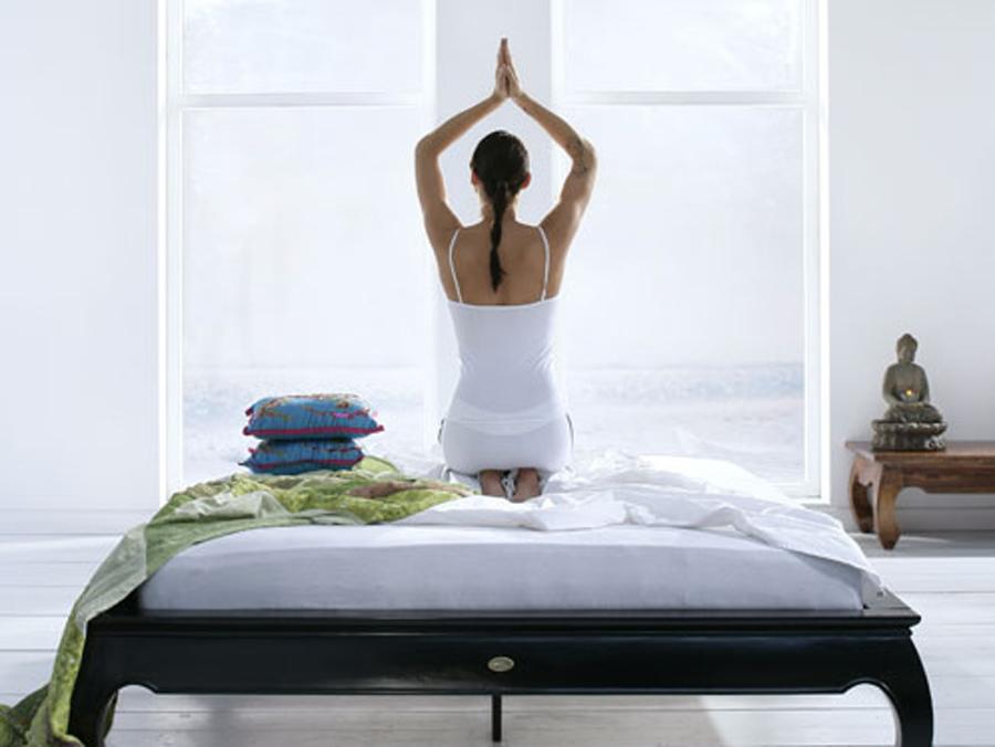 图片[1]|瑜伽有助睡眠|苦荞之家